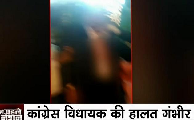 कर्नाटक में कांग्रेस विधायक तनवीर सैत पर चाकू से हमला, हालत गंभीर, अंडरवर्ल्ड से मिली थी धमकी