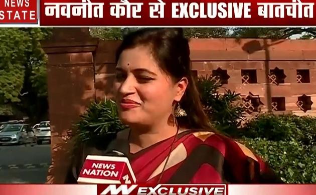 महाराष्ट्र में सत्ता को लेकर निर्दलीय सांसद नवनीत कौर ने कहा- केंद्र में जो सत्ता है, वही राज्य में सरकार बनाए