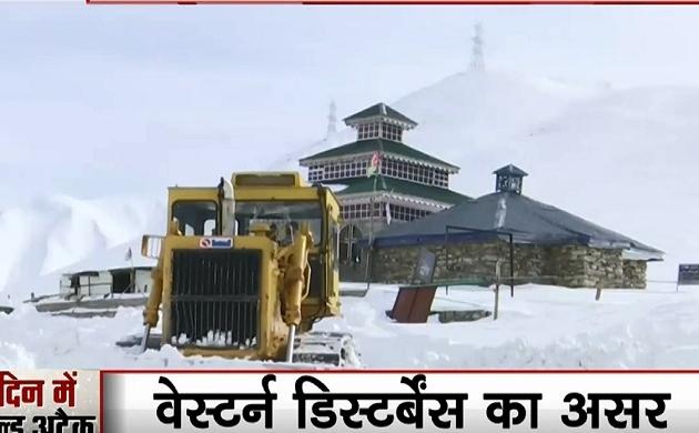 पहाड़ी राज्यों में बर्फबारी के बाद बदला तापमान, अगले 2 दिनों में दिल्ली, हरियाणा, पंजाब और राजस्थान में पड़ेगी भीषण सर्दी