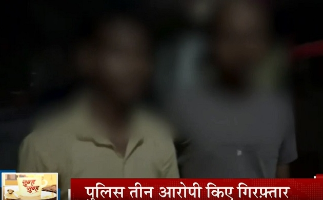 UP: पत्नी से संबंध होने के शक में दो युवकों का मुंडन कर खंभे से बांधकर पीटा, तीनों आरोपी हुए गिरफ्तार
