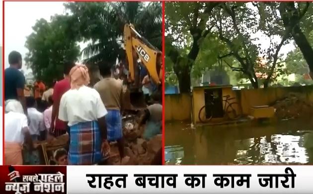 तमिलनाडु के कोयंबटूर में बड़ा हादसा, भारी बारिश के कारण दीवार गिरने से 15 लोगों की मौत