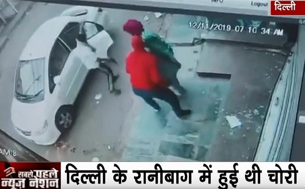 सुबह सवेरे ज्वेलरी शोरुम की तिजोरी पर हाथ साफ करते दिखे बदमाश, CCTV में कैद पूरी वारदात