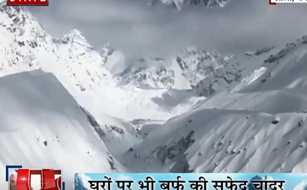 Uttarakhand: भारी बर्फबारी से औली हुआ गुलजार, पहाड़ी इलाकों में बिछी बर्फ की सफेद चादर, माइनस में पहुंचा तापमान