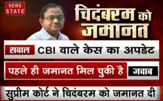 P Chidambaram: पी. चिदंबरम की जमानत पर सुप्रीम कोर्ट का फैसला, देखें कब आएंगे जेल से बाहर