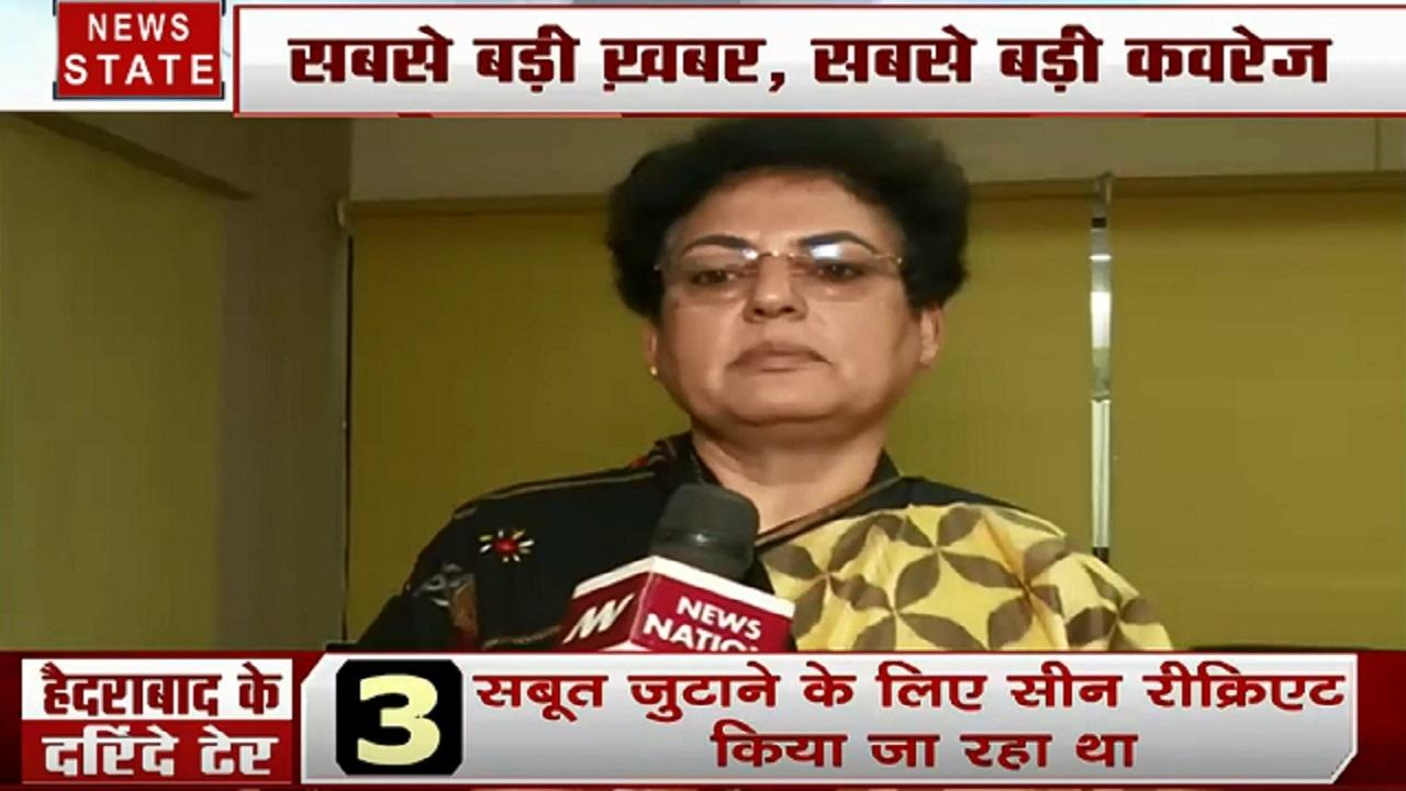 Hyderabad Encounter: हैदराबाद के हैवानों का खात्मा, देखें महिला आयोग की अध्यक्ष रेखा शर्मा का Exclusive Interview
