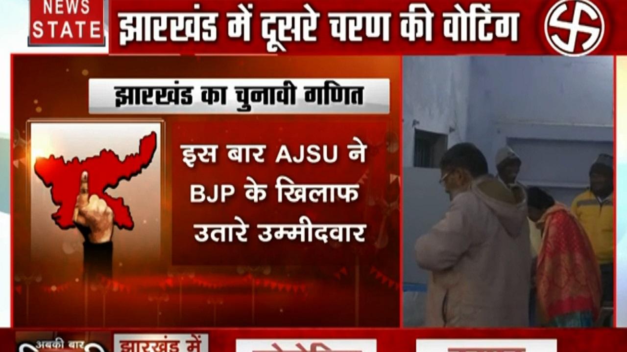 Jharkhand Election: झारखंड में इस बार बहुकोणीय मुकाबला, दूसरे चरण की 20 सीटों पर मतदान शुरू