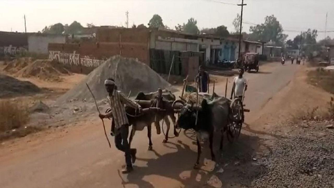 MP: फिर हुई मानवता शर्मसार, फांसी पर लटके युवक को नहीं मिला शव वाहन, बैलगाड़ी पर ले जाने को हुए मजूबर