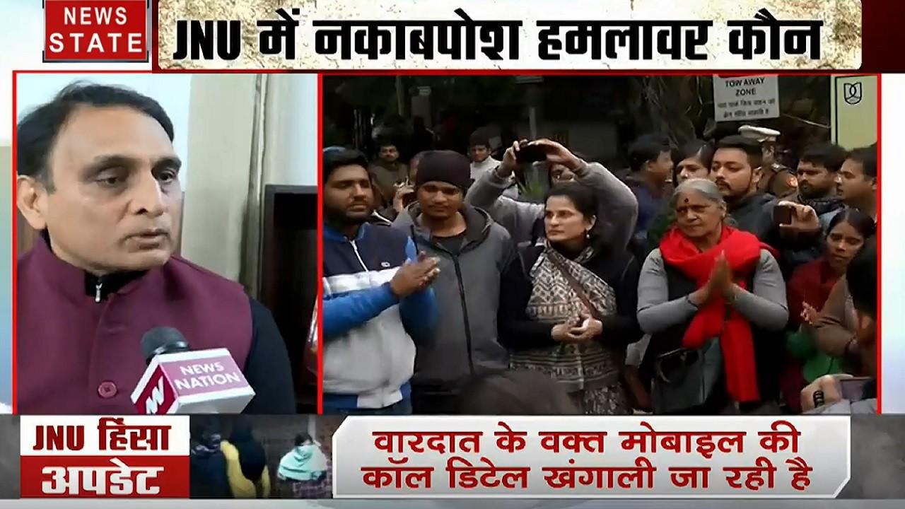 दिल्ली से लेकर मुंबई तक संग्राम, JNU हिंसा पर राज्यसभा सांसद राकेश सिन्हा का बयान, देखें वीडियो