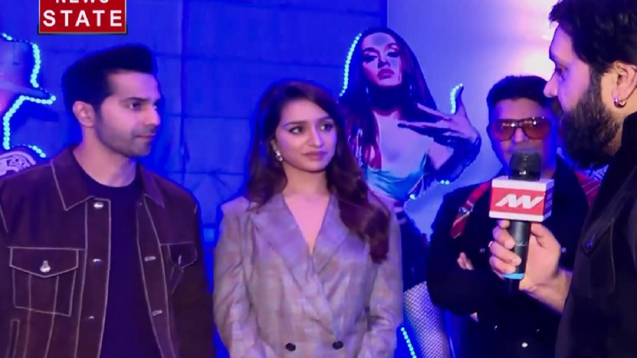 Entertainment: प्रभुदेवा के साथ डांस स्टेप मैच करने के लिए श्रद्धा कपूर ने दिए इतने रीटेक, देखिए Street Dancer 3D कास्ट का Interview