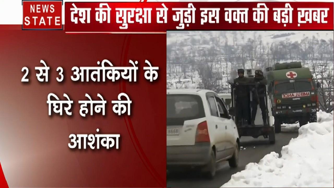 Jammu Kashmir:  पुलवामा में आतंकी, मुठभेड़ जारी, 2 से 3 आतंकियों के होने की आशंका