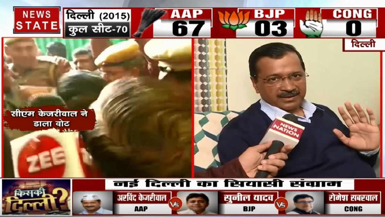 Delhi Election 2020: अच्छे बहुमत से आम आदमी पार्टी की बनेगी सरकार, देखें अरविंद केजरीवाल का Exclusive Interview