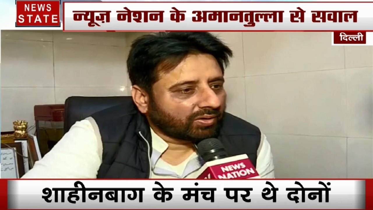 Delhi : जीत के बाद देखें अमानतुल्लाह खान का Exclusive Interview